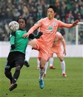植田直通、森岡亮太ともフル出場 サッカーのベルギー1部