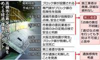大阪北部地震半年 ブロック塀の倒壊、捜査長期化も