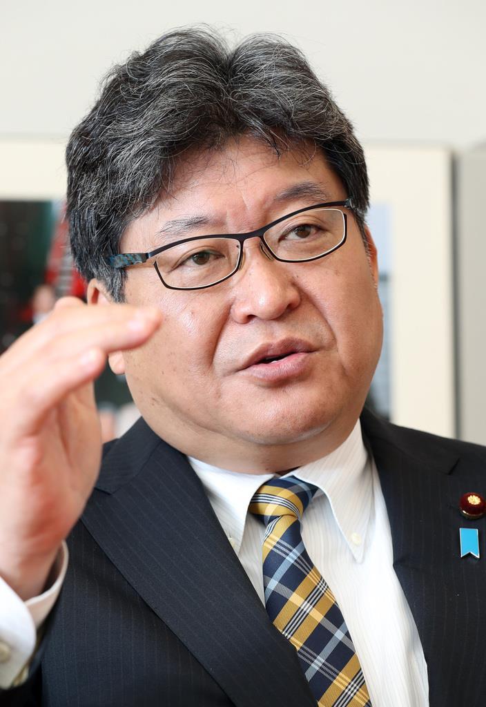 自民党の萩生田光一幹事長代行(古厩正樹撮影)