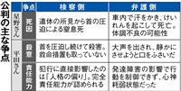 焦点は死因、責任能力の判断 大阪・寝屋川中1殺害 19日判決