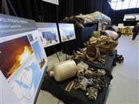 米、サウジ当局など回収のイラン製兵器を外国報道陣に公開
