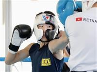 「ばっちり勝つ」30日に世界戦の拳四朗が練習公開