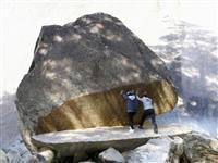 延岡の巨岩「パックマン」、インスタ映えで人気集める