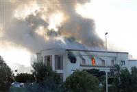 リビア首都で外務省襲撃 3人死亡、ISか