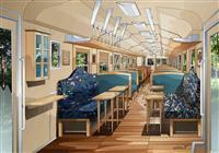 鳥取・若桜鉄道の観光列車第2弾 「八頭号」来年3月に運行開始