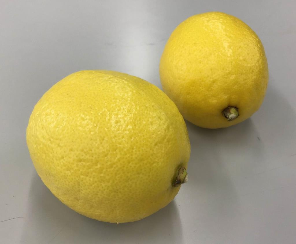 防カビ剤を使用している米国産レモン。日本の豊かな食生活を支えている