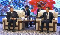 石破茂氏、中国共産党元部長と会談
