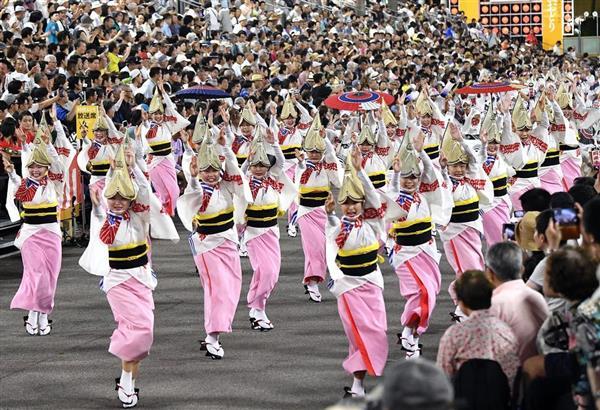 四国の議論】「阿波おどり」4億円超の累積赤字、運営めぐり徳島市と ...