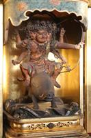 香川・八栗寺にイノシシに乗った仏像「摩利支天」 元日から一般公開