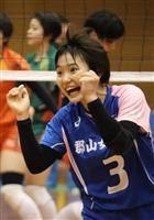 【春高バレー 注目選手】郡山女大付・井上芙香選手(3年) チーム支える小柄な守護神