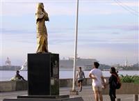 フィリピンにまた「慰安婦像」 日本大使館が設置を確認