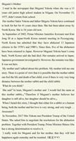 【横田めぐみさんへの手紙】英語で… 堺市 亀川乃晶さん 高校2年