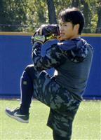 小川「感覚は悪くない」 新投球フォームを披露