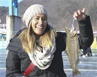 韓国でヤマメ氷上釣り 毎冬恒例の祭り開幕