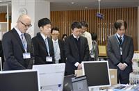 愛媛の被災地で黙祷 西日本豪雨半年、31人犠牲に