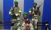 アフリカ・ガボンでクーデターか 軍部がラジオ局占拠