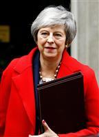 EU離脱案の英議会採決、15日前後に「必ず行う」 メイ首相
