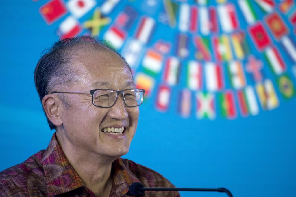 世界銀行のジム・ヨン・キム総裁(AP)