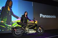 パナソニック、電動バイクに提供 ハーレーと協業