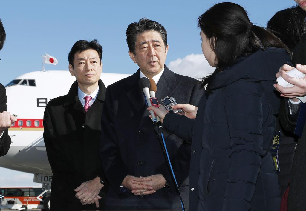 安倍首相、英蘭歴訪へ出発「G20...