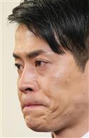 純烈・友井雄亮さん会見(上)「芸能界から引退」