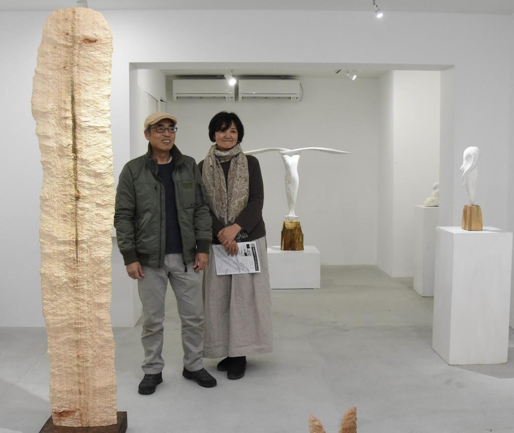 東日本大震災で被災し奈良移住 彫刻家夫妻、恩返しの展覧会 - 産経ニュース