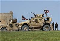 シリアから米軍撤収開始 当面は装備のみ