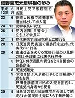 細野豪志氏、自民入り探る 無所属の展望見えず二階派接触、地元は反発