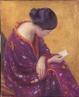 【かながわ美の手帖】ポーラ美術館「モダン美人誕生-岡田三郎助と近代のよそおい」