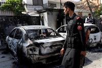 パキスタン警察、中国総領事館襲撃は「インドが支援」