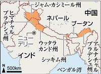 インド、国境付近で大規模道路整備へ 「戦略的道路」44カ所、中国に対抗
