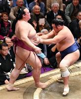 稀勢の里は3連敗 大相撲初場所