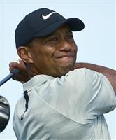 ウッズが24日から今季初戦 米男子ゴルフ