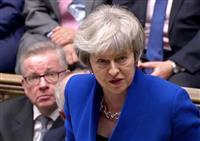 英下院、内閣不信任案否決 政権交代回避に与党結束