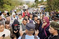 移民集団700人北上中 メキシコ、国境警戒強化