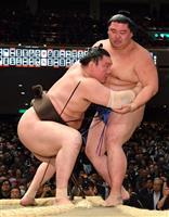 一人横綱白鵬が6連勝 阿武咲も全勝 大相撲初場所