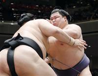 阿武咲が初の6連勝スタート「状態いい」 大相撲初場所