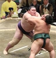 新入幕の矢後が奮闘、1敗キープも「満足はしていない」 大相撲初場所