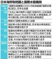 日本海呼称変更めぐり日韓朝が非公式協議へ 東海改称や併記現実化の懸念も