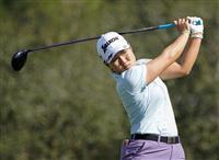 畑岡71、最下位の24位に 米女子ゴルフ第3日