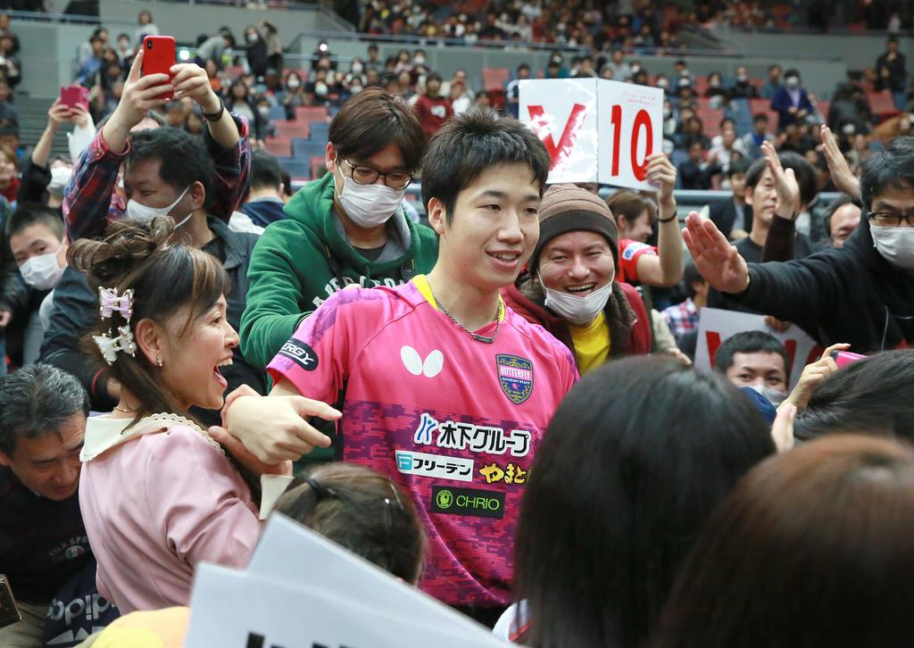 卓球全日本V10の水谷 「引き際と...