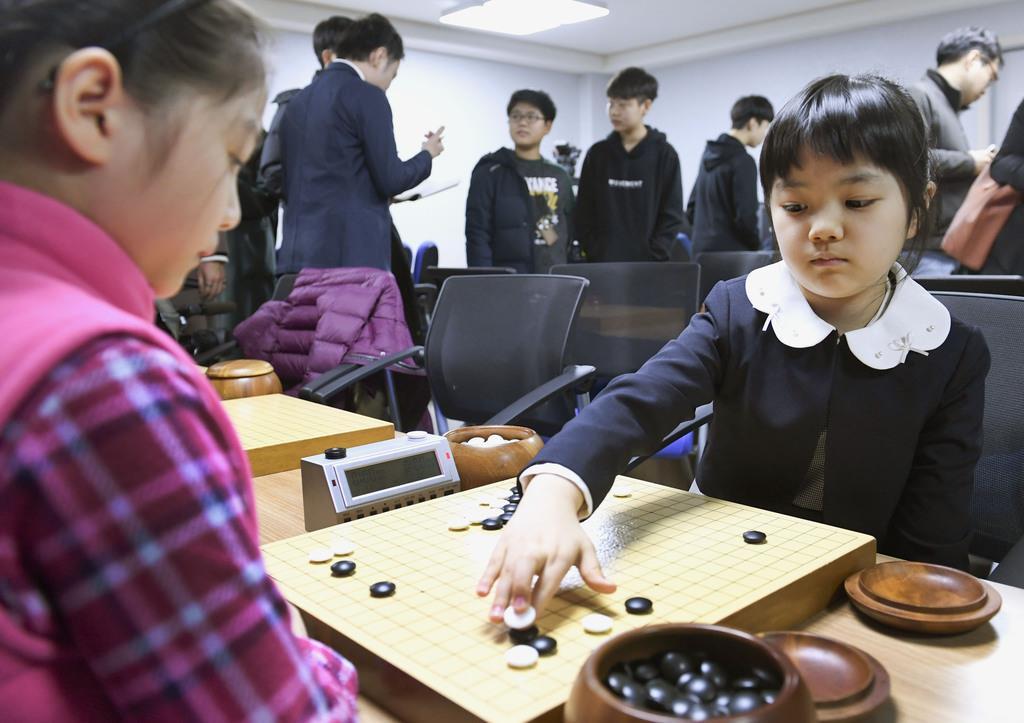 10歳でプロになる仲邑菫さん、修業した韓国で会見 - 産経ニュース