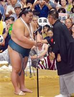 引退の豪風「郷土の誇り」 秋田でねぎらう声相次ぐ