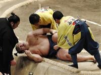 千代の国が11日目から休場 左膝付近を負傷