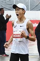 先頭は2時間4分台ペース 大迫の日本記録更新に期待 東京マラソン