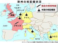 【激動ヨーロッパ】冷戦の悪夢想起 欧州「核抑止」議論に温度差