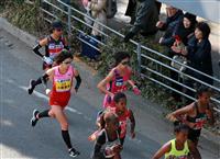 【大阪国際女子マラソン・速報(6)】小原が先頭集団、福士は苦しい走り