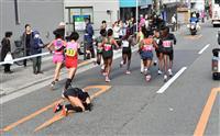 【大阪国際女子マラソン】転倒の福士「意識がモアーッと」