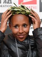【大阪国際女子マラソン】優勝のサド「このタイムでは五輪難しい」