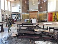 比の大聖堂で爆発、20人死亡 自治政府反対の州